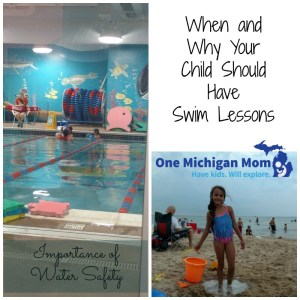 Safety first swim lessons at goldfish swim school