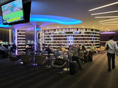 The EVA Air lounge in Taipei... wow! - One Mile at a Time