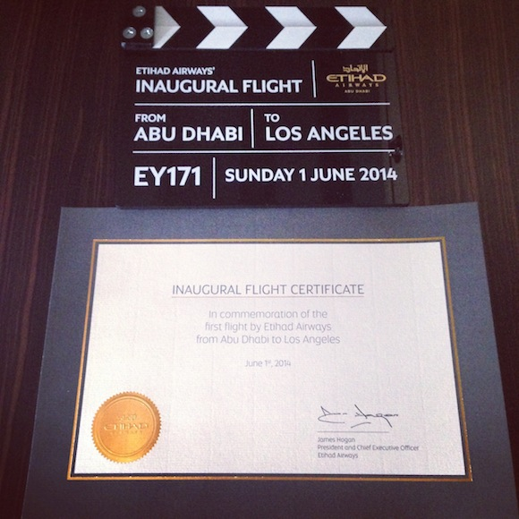 Trip Report To Abu Dhabi For An Etihad Inaugural - One Mile at a Time