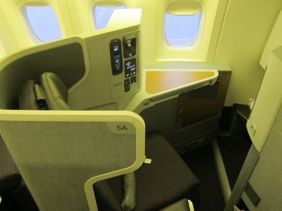American Airlines Reconfigured 777-200 Seatmap (With New Business