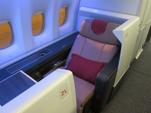 Review Air China Business Class Paris to Beijing - One Mile at a Time