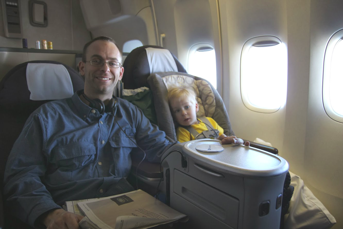Baby Cot United Airlines Can Kids Fly In First Class One Mile At A Time