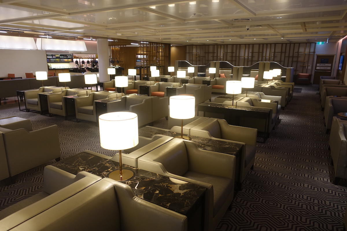 Lounge Sydney Review Singapore Airlines Business Class Lounge Sydney Airport