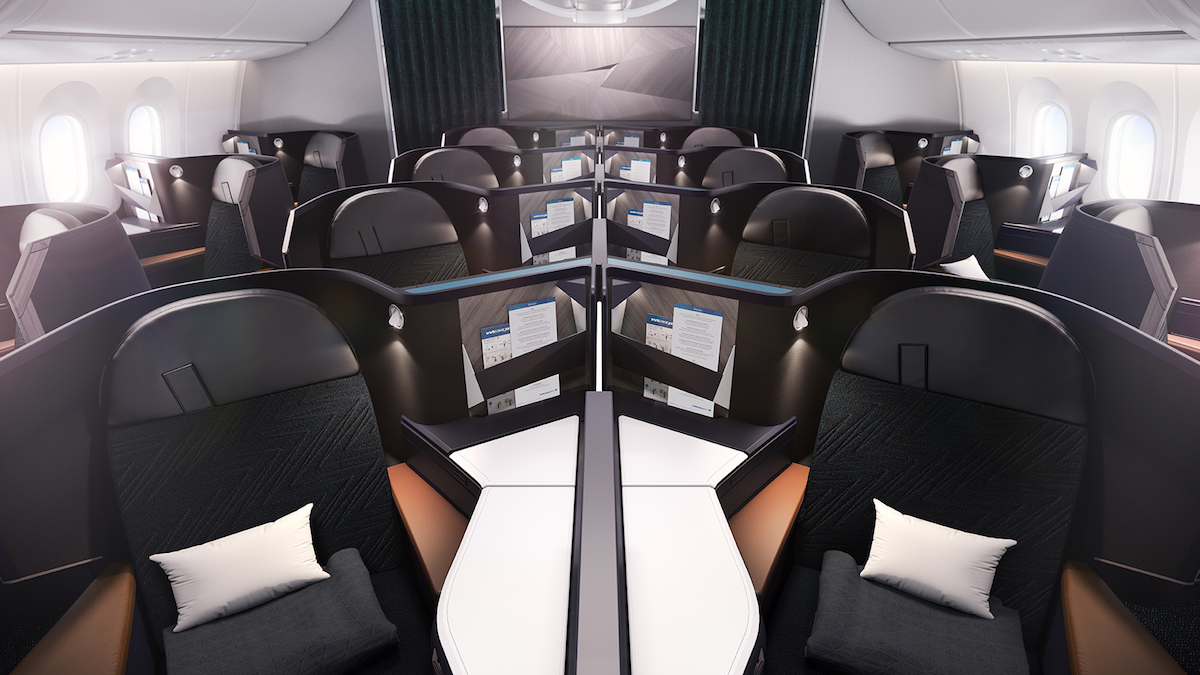 Flights With West Jet Great Fares In Westjet S New 787 Business Class One Mile At A Time