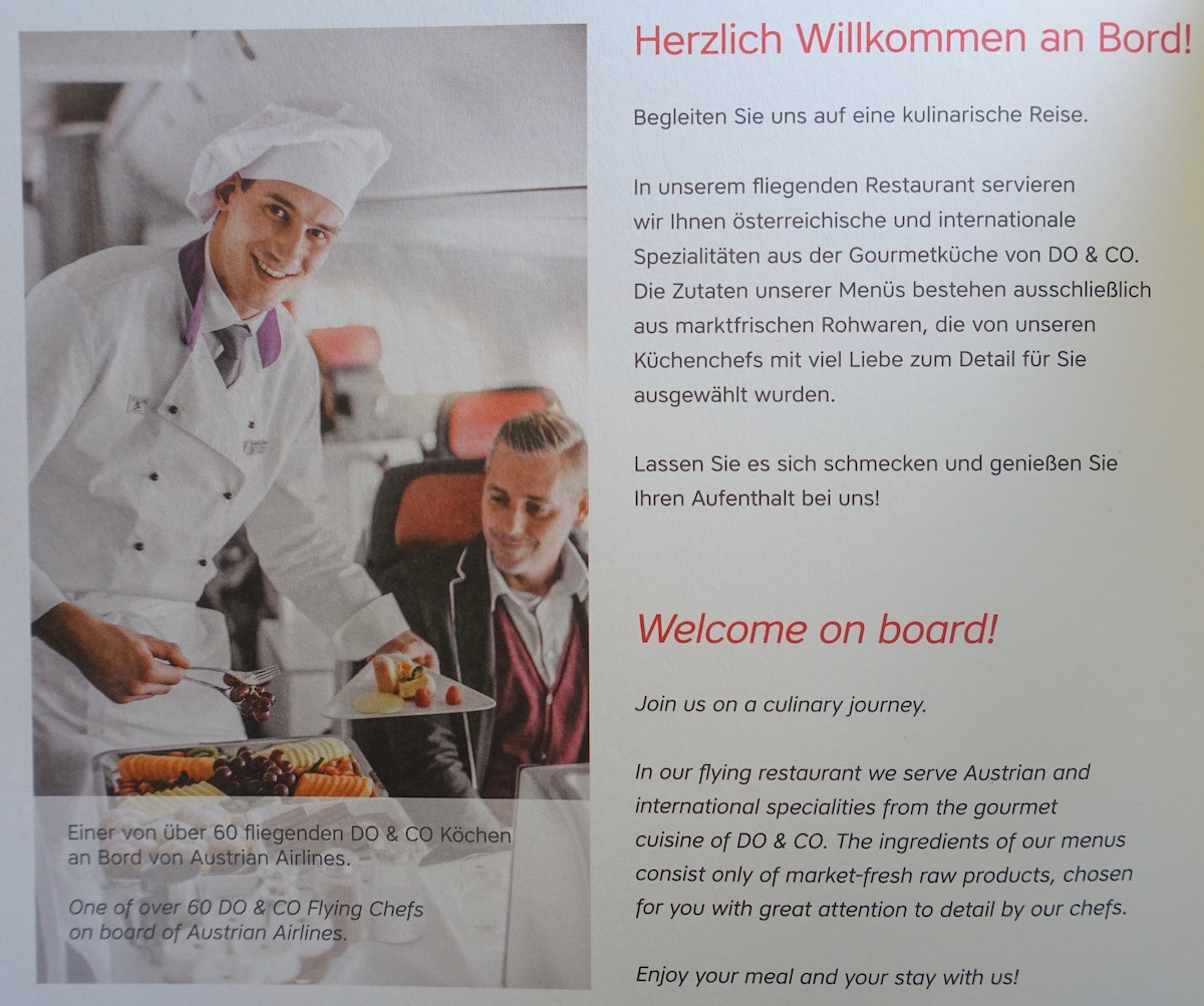 Küchenchefs Tv Now Review Austrian Business Class 767 Newark To Vienna One Mile At