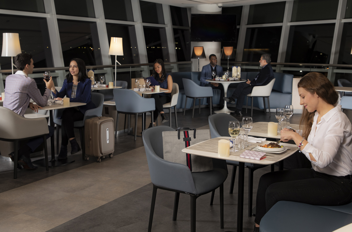 Dining Lounge Now Open Air France S New Jfk Pre Flight Dining One Mile At A Time