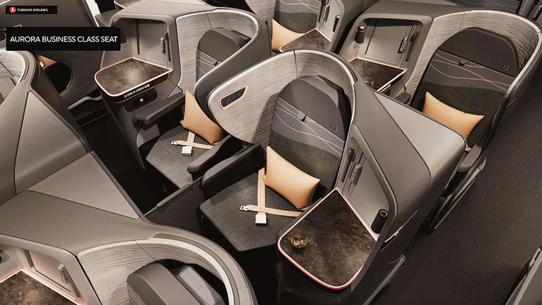 Confirmed Turkish Airlines\u0027 New Business Class Seat - One Mile at a