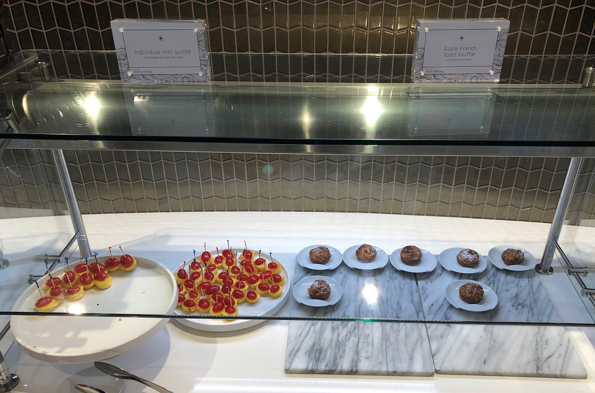 Buffet Fly Occasion Review United Polaris Lounge San Francisco Airport One Mile At