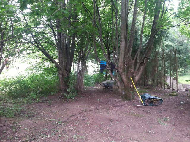 How to Build a Yurt - Phase 3- Preparing the Space