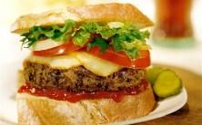cheeseburger deluxe, indian cheeseburger