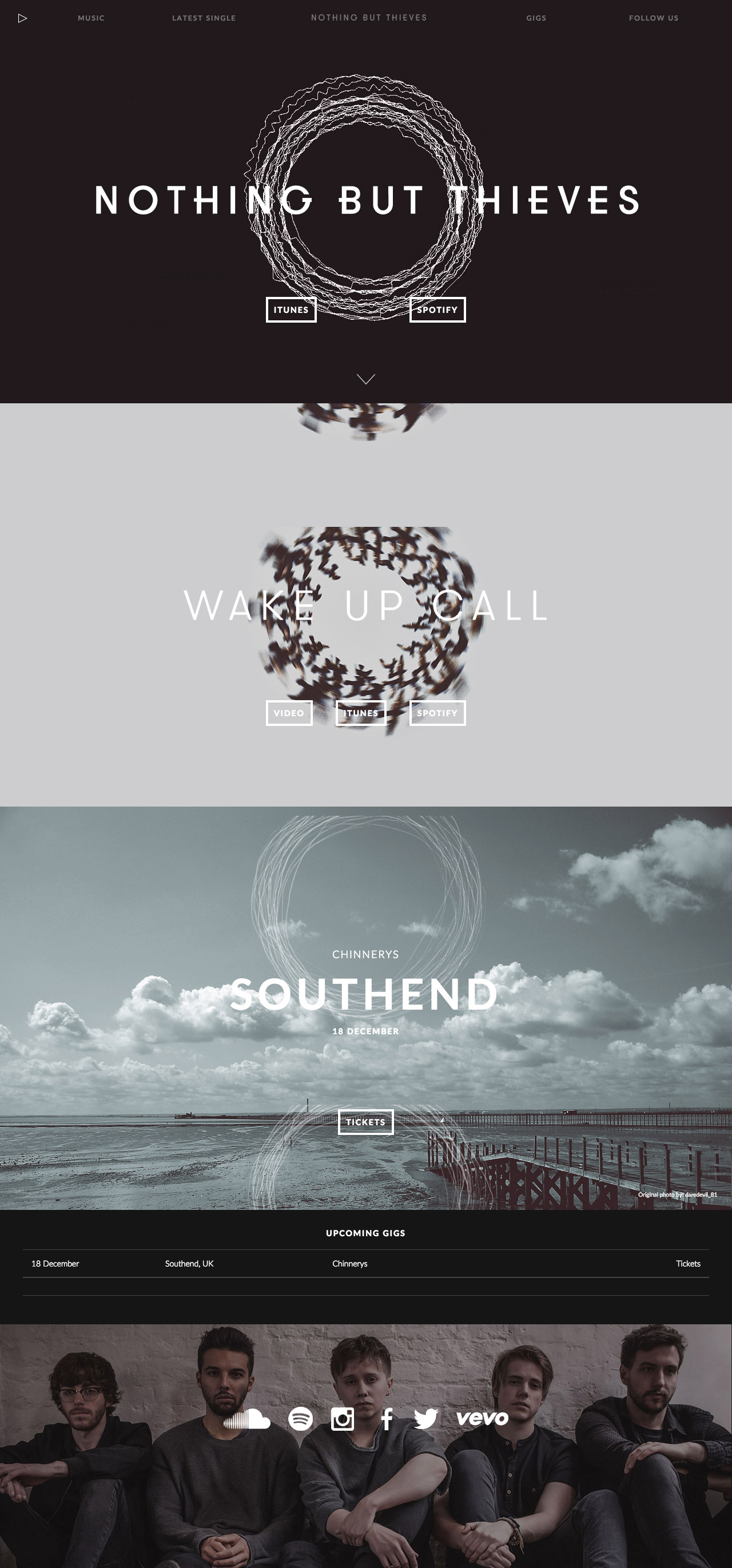 Iphone Wallpaper Pinterest Quotes Nothing But Thieves