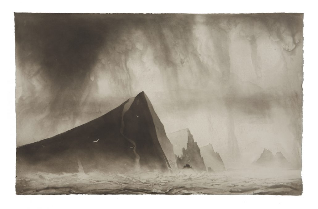 Bob Cut Drawing Norman Ackroyd 20 Apr – 26 May – One Paved Court