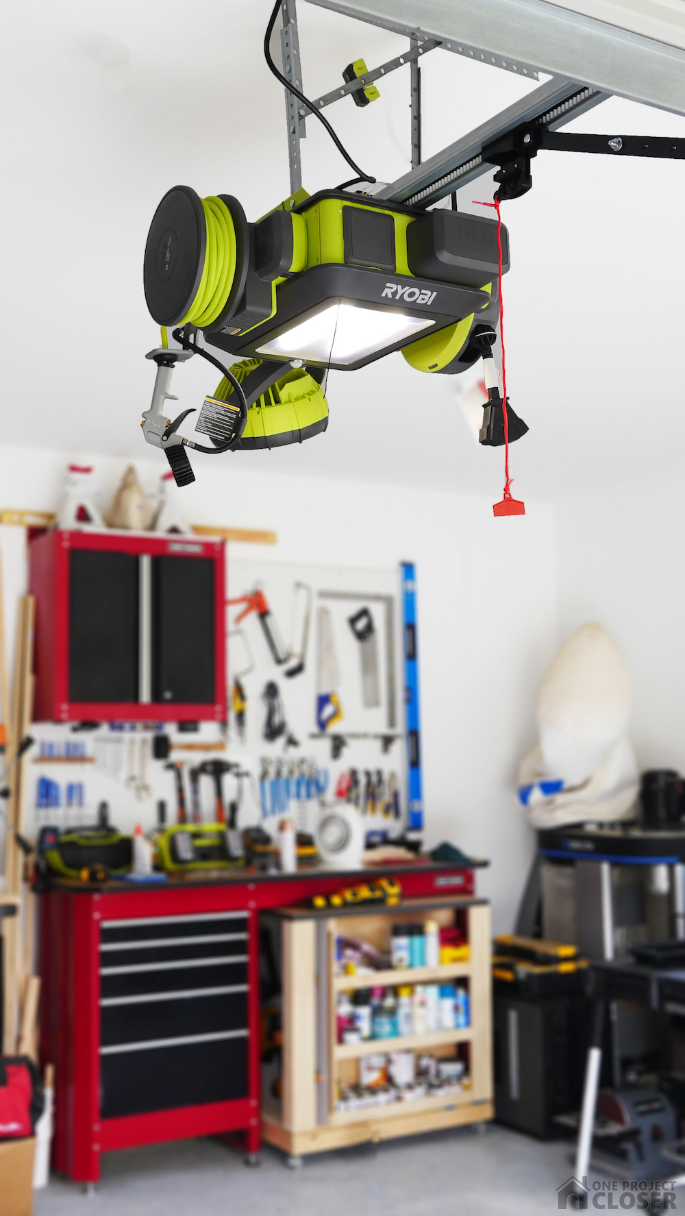 Ryobi Garage Door Fan Ryobi Garage Door Opener Review One Project Closer