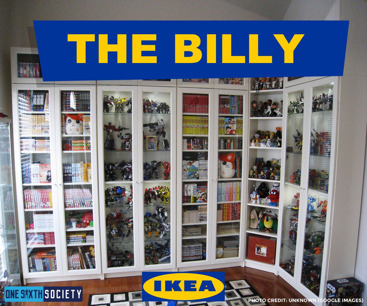 Billy Bookcase Ikea Canada Best Ikea Display Cases For Action Figures One Sixth Society