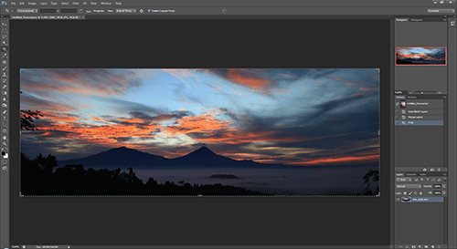 Tutorial Creating A Panorama Photo Using Adobe Photoshop