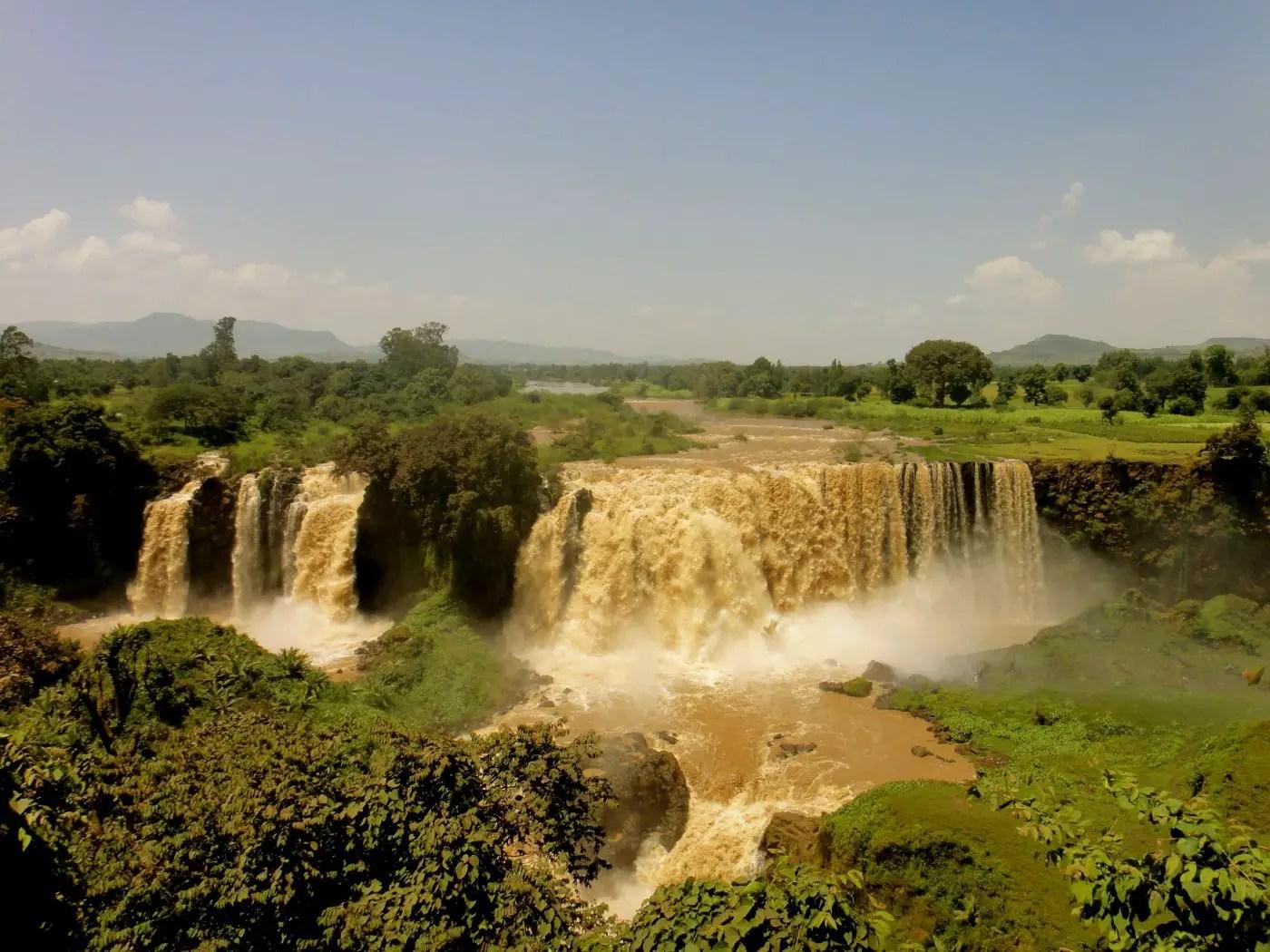 Blue Nile Falls Wallpaper Top Tourist Destinations In Ethiopia One Step 4ward