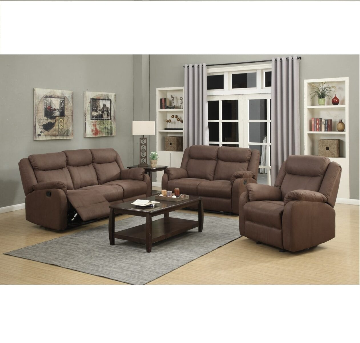 2 Seater Recliner Lounge Leeds Lounge 3 Seater Plus 2 Single Recliners One Stop Pine