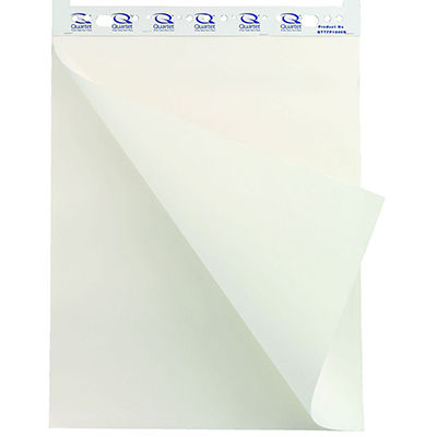 QUARTET RECYCLED FLIPCHART PAPER 50 SHEETS PACK 2 Herrimans Office
