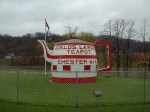World's biggest teapot in Chester, West Virginia