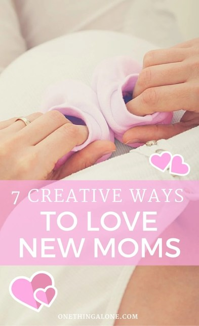 I need to save these for when another friend has a baby. What great and EASY ideas!