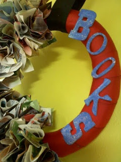 Childrens Book Wreath!