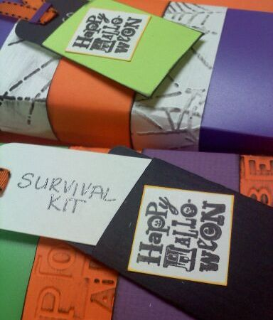 Halloween Survival Kit's for Teacher Gifts!!