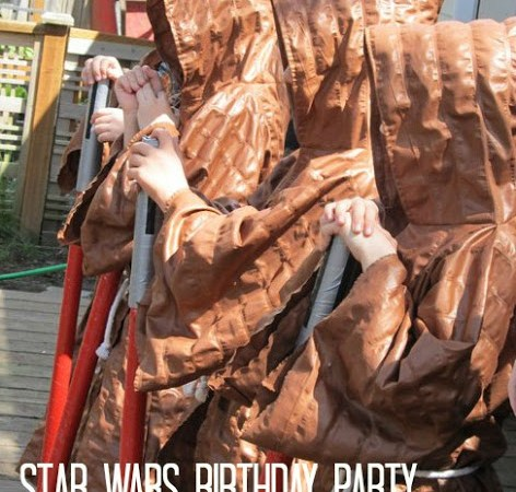 Star Wars Birthday Bash!!   Jedi training style!