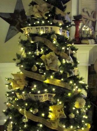 Oh Vintage Tree, Oh Vintage Tree…… { Christmas Tree DIY }