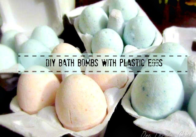 DIY Bath Bombs / Fizzies { Spring Eggs }