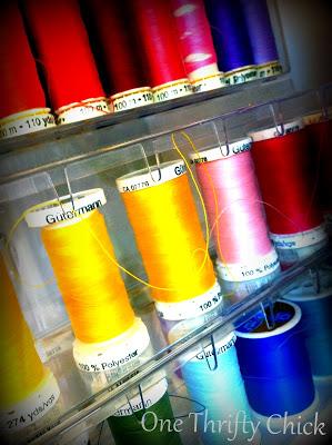 A Sewing Room Overhaul {Happy Birthday Mom}
