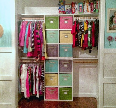 Quick Fix Closet Organization