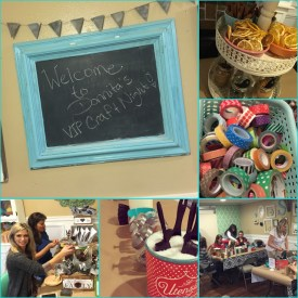 Ladies Night Out Craft Events { The CRAFT House }
