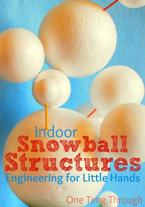 Indoor Snowball Structures