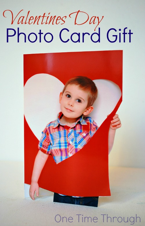 Valentines Day Photo Card Gift Activity