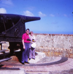 Fort of San Cristobal in San Juan.