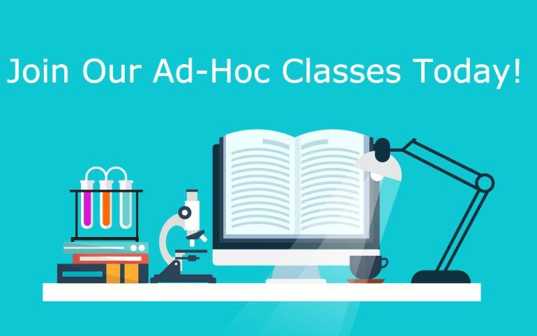 ad hoc tuition