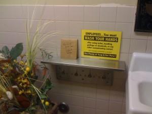 CD #2: Ballard Market Men's Room!