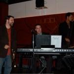 Josh & I Singing Cold Cat Blues