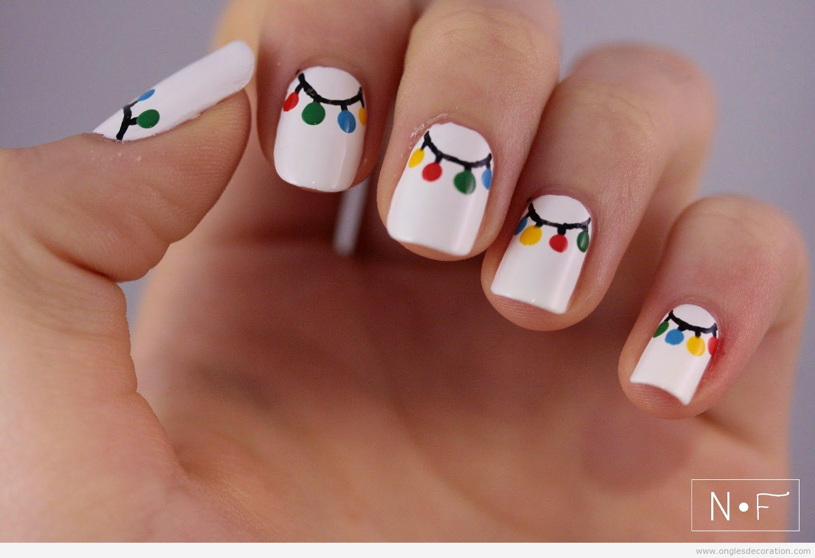 Decoration Ongle Nail Art Noël Décoration D Ongles Nail Art