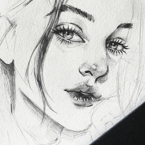 how-to-sketch-portaits-drawing-portraits-portrait-illustration