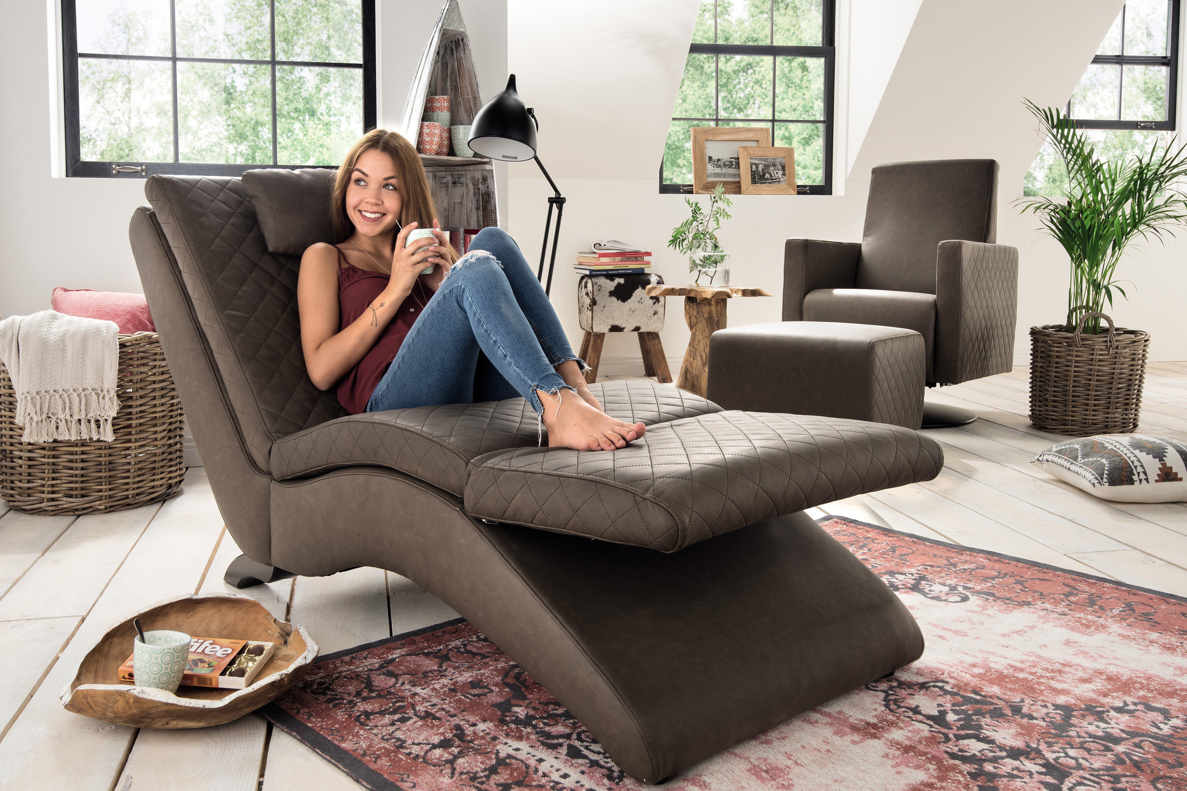 Lounge Sessel Relaxliege Relaxliege Lounge Sofa Design Couch Sessel Relaxliege