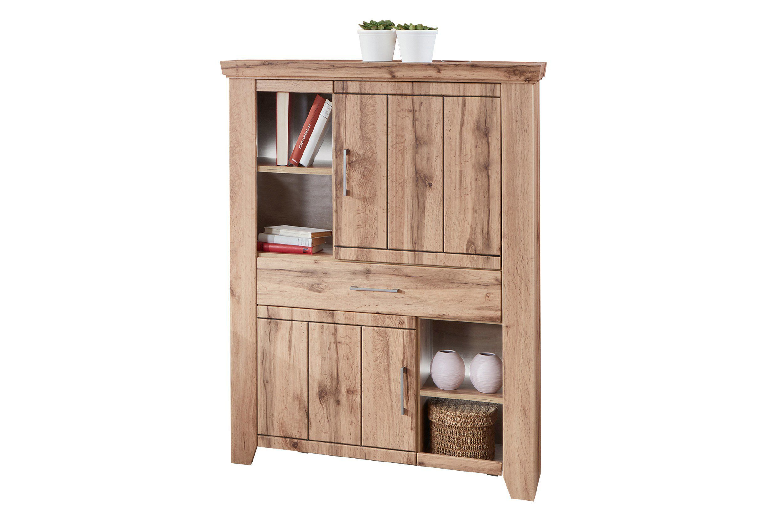 Günstige Möbel Online Shops Ideal Möbel Highboard Stromberg Wotan Eiche Möbel Letz