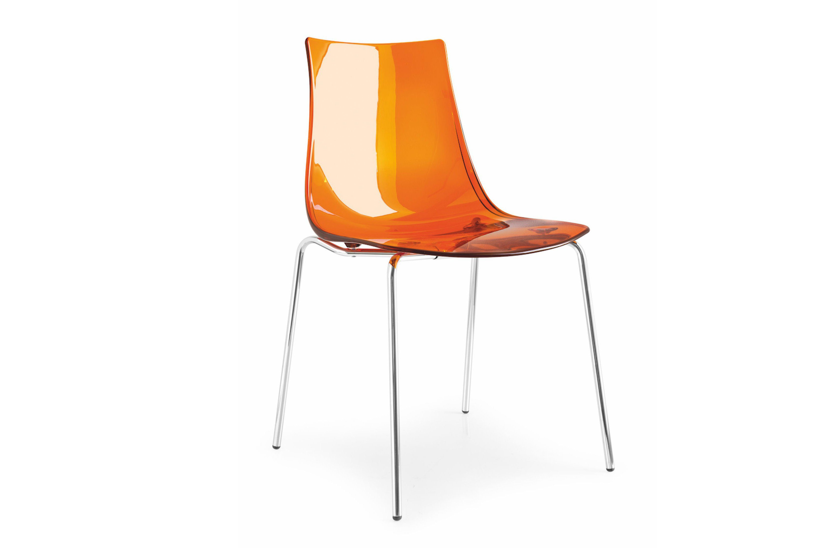 Calligaris Stuhl Connubia By Calligaris Stuhl Led Orange | Möbel Letz - Ihr ...
