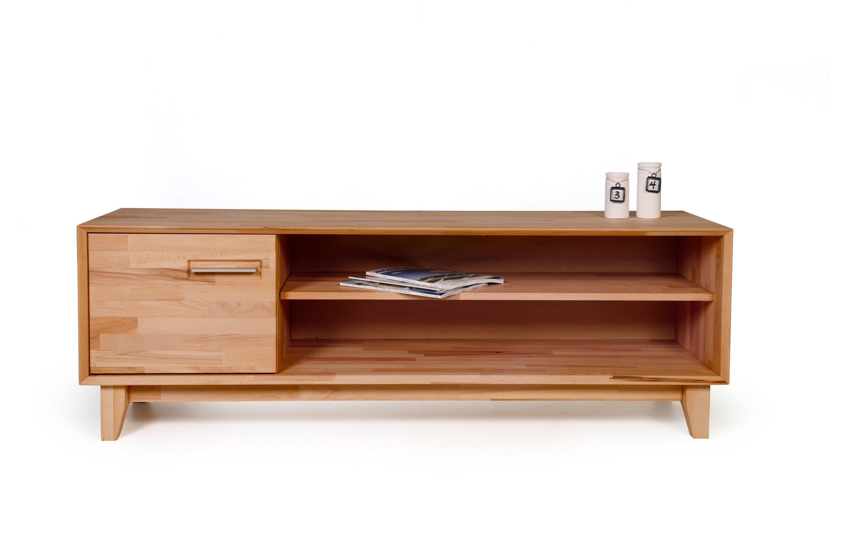 lowboard echtholz top von moderne anbauwand mit xxl