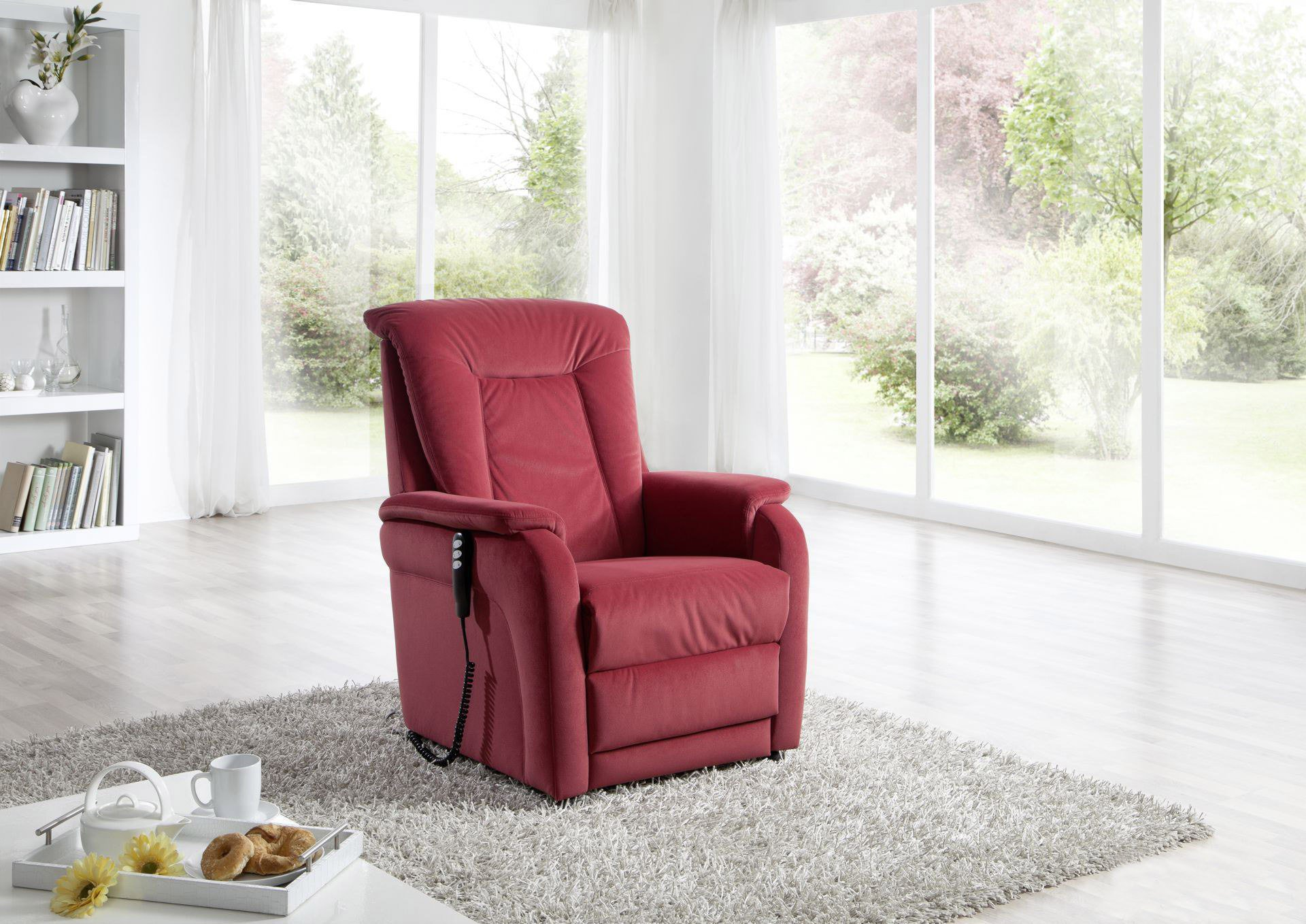 Arco Sessel 8301 Relax Von Arco Relaxsessel Bordeaux