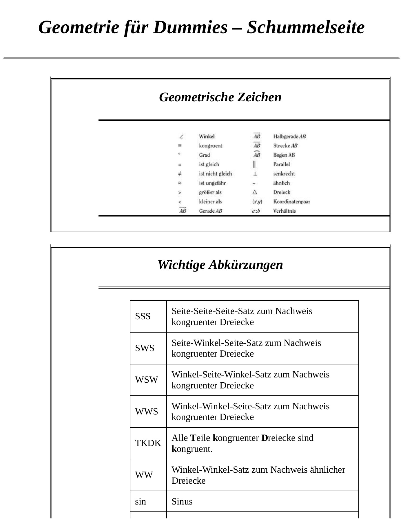 Rechten Winkel Messen Mit Zollstock Geometrie Fur Dummies Pages 201 250 Text Version Anyflip