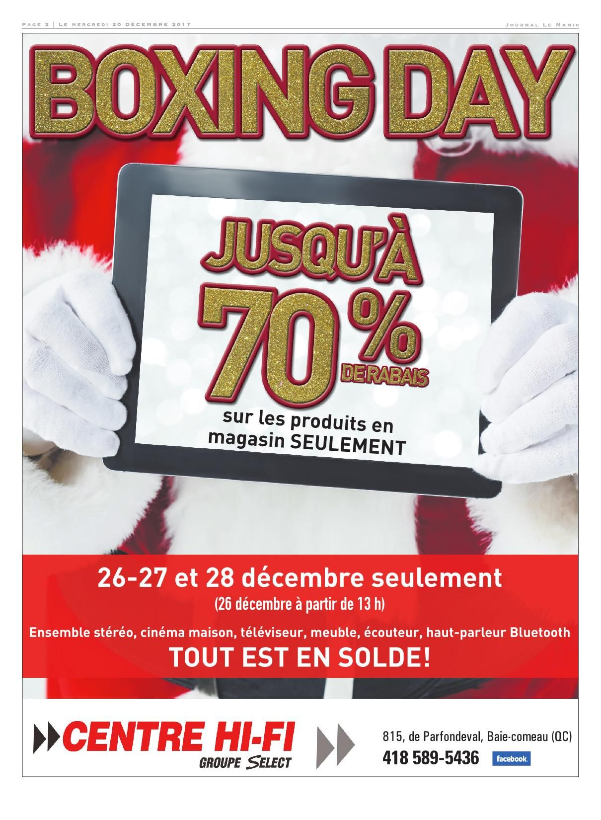 Meubles Accent Dolbeau-mistassini Le Manic 20 Décembre 2017 Pages 1 44 Text Version Fliphtml5