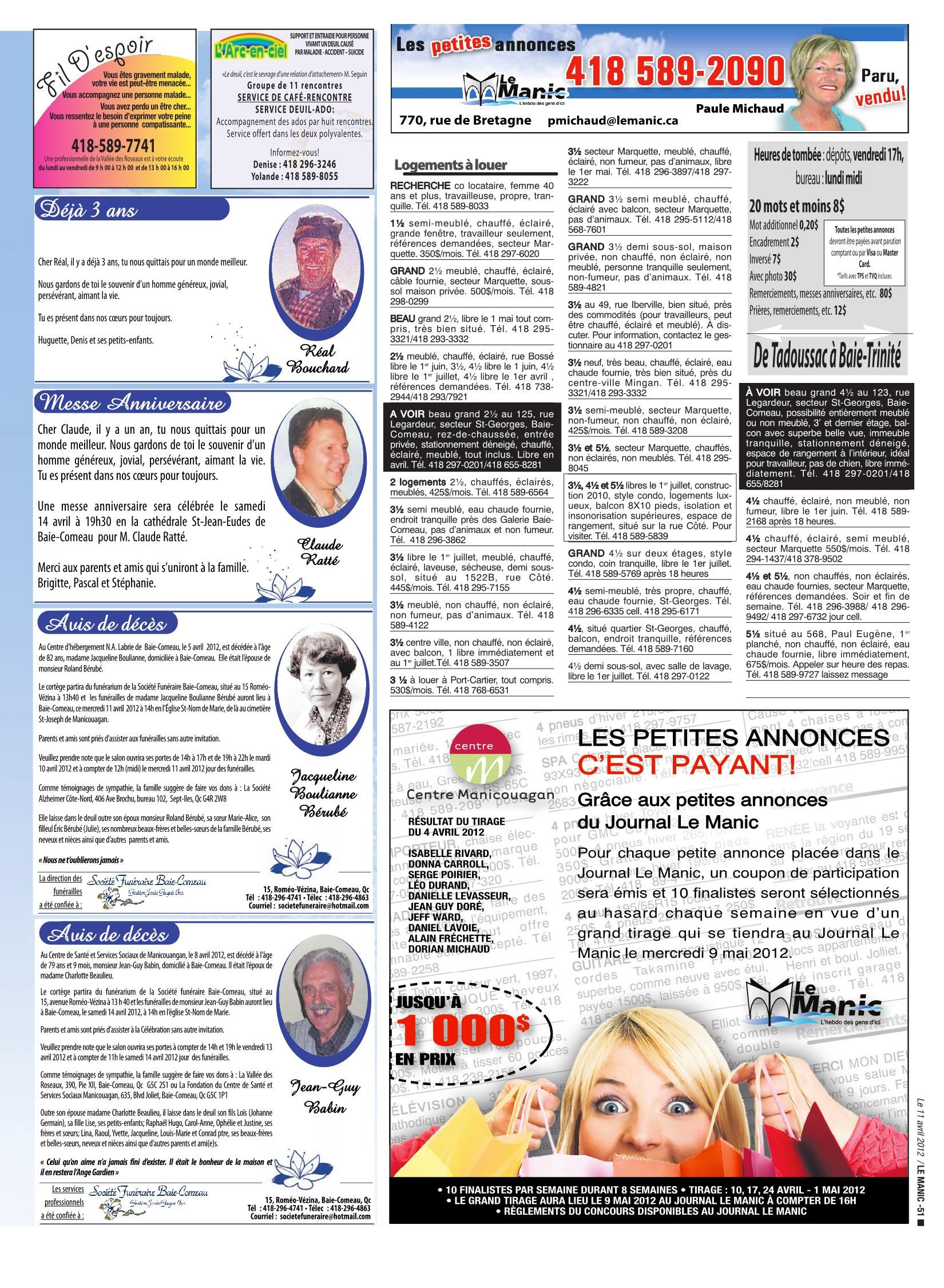 Accent Meubles Levasseur Le Manic 11 Avril 2012 Pages 51 72 Text Version Fliphtml5