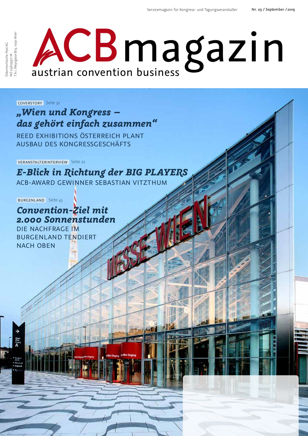 Acb Magazin 03 2019 Pages 1 50 Text Version Fliphtml5 - Vorhänger Polarisierend