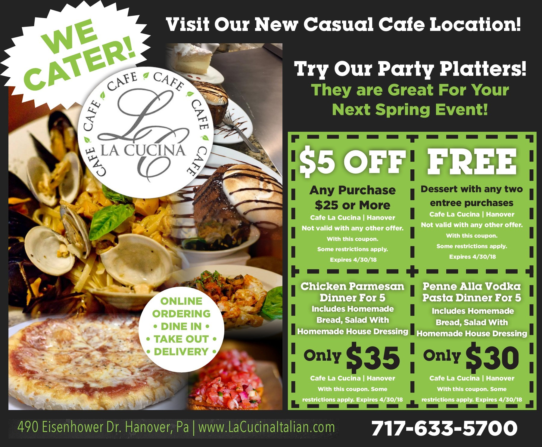 La Cucina Restaurant Hanover Pa Wiynn York Co Pages 1 16 Text Version Fliphtml5
